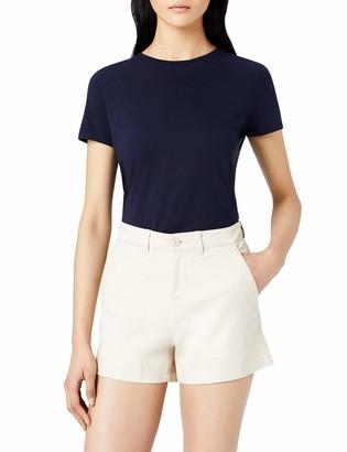 Meraki Amazon Brand Women's Stretch Chino Shorts
