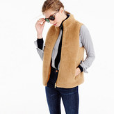 J.Crew Plush fleece excursion vest