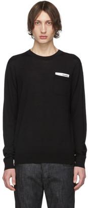 DSQUARED2 Black Pocket Sweater