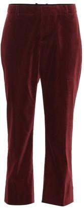 Saint Laurent Cropped velvet pants