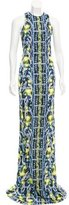 Peter Pilotto Abstract Print Maxi Dress w/ Tags