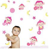 Cheeky Monkey BoscoBear Cuddly Toys, Decal