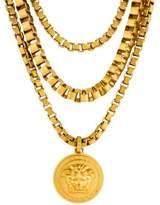 Versace Medusa Multistrand Necklace