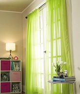"""Style Master Stylemaster SHEER VOILE Panel Pair, 2 X 60"""" X 84"""", Lime"""