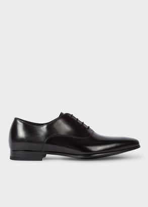 Paul Smith Men's Black Leather 'Fleming' Oxford Shoes