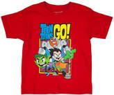 Novelty T-Shirts Teen Titans Go! Graphic T-Shirt - Preschool 4-7