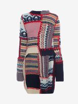 Alexander McQueen Patchwork Knit Jumper