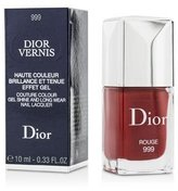 Christian Dior Vernis Couture Colour Gel Shine & Long Wear Nail Lacquer - # 999 Rouge 10ml