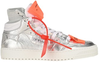Off-White Off White Metallic Offcourt 3.0 High Top Sneaker