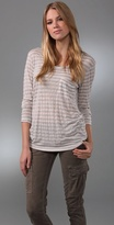 Peri Striped Long Sleeve Tee