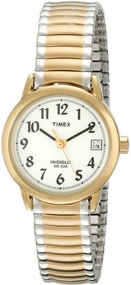 Timex Women's T2H381 Easy Reader 25mm Two-Tone Stainless Steel Expansion Band Watch