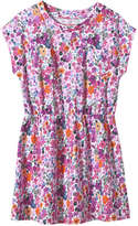 Joe Fresh Kid Girls' Print Pocket Dress, Pink (Size XL)