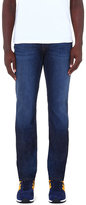 J Brand Straight Mid-rise Stretch-denim Jeans