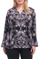 Foxcroft Ali Dolce Vita Bell Sleeve Shirt