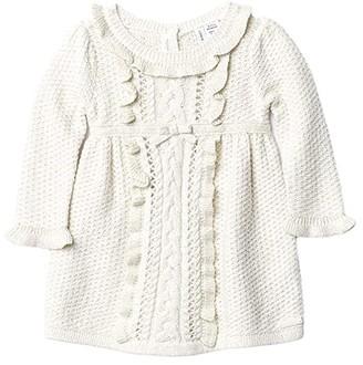 Janie and Jack Sweater Dress (Infant) (Ivory) Girl's Clothing