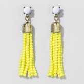SUGARFIX by BaubleBar Beaded Tassel Drop Earrings