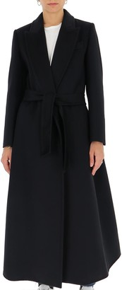 Max Mara Long-Line Belted Coat