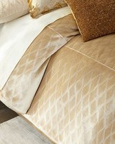 Isabella Collection Queen Aurelia Diamond Duvet Cover