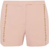 Elie Saab Embellished Crepe Shorts - FR40