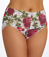 Hanky Panky Red Rose V-kini Plus Size