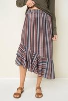 Hayden Retro Striped Skirt