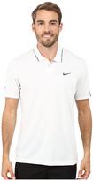 Tiger Woods Golf Apparel by Nike Nike Golf Kimono Heather Mesh Polo Shirt