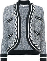 Veronica Beard Davis crop cardigan