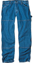 "Dickies Men's Relaxed Fit Double Knee Carpenter Jean 34"" Inseam"
