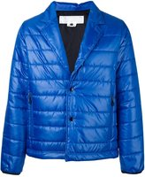 Comme des Garcons notch lapel padded jacket - men - Polyester - S