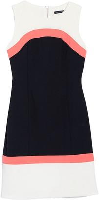 Tommy Hilfiger Colorblock Sleeveless Sheath Dress