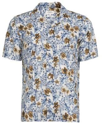 Hartford Tropical Flowers shirt