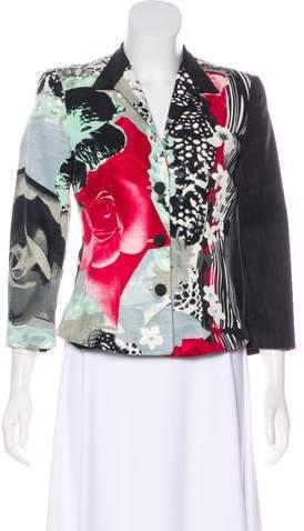 Giorgio Armani Watercolor Floral Jacket