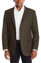 Greg Norman Men's Two Button Herringbone Sport Coat