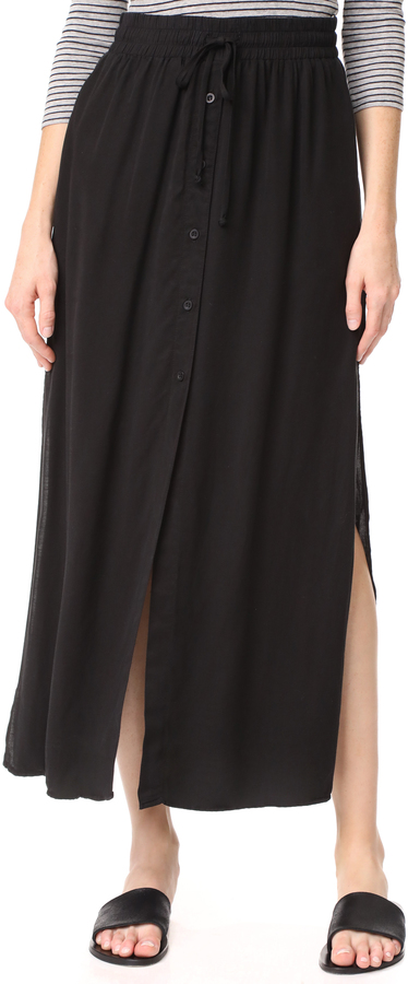 Bella Dahl Button Front Skirt