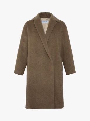 Gerard Darel Pablo Wool Mix Coat, Camel