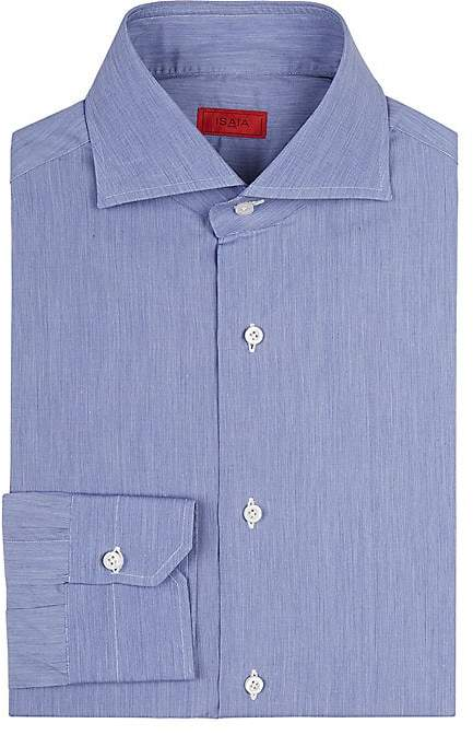 Isaia Men's Slim-Fit Cotton Dress Shirt