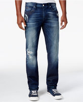 GUESS Men's Regular Straight-Leg Jeans