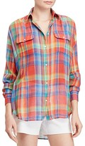 Lauren Ralph Lauren Plaid Shirt