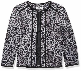 Kasper Women's Leopard Printed Fly Away Jacket