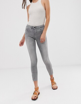 Only grey skinny jeans