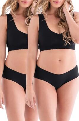 Belly Bandit Anti Panti Leak-Resistant 2-Pack Panties