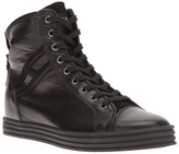Hogan logo hi-top trainer