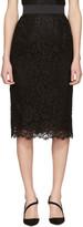 Dolce & Gabbana Black Lace Skirt