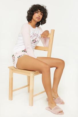 Ardene Weekend T-shirt and Shorts PJ Set