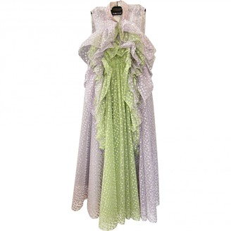 DELPOZO Multicolour Silk Dresses