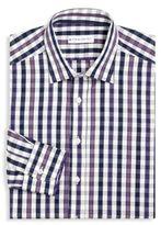 Etro Gingham Jacquard Dress Shirt