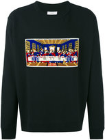Facetasm The Last Supper embroidered sweatshirt - men - Cotton/Acrylic - One Size