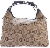 Gucci Small Canvas Horsebit Hobo