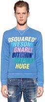 DSQUARED2 Gnarly Printed Cotton Sweatshirt
