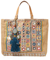 Pinki Embroidered Tote